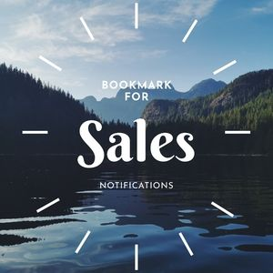 Sign Up For Sale Alerts!